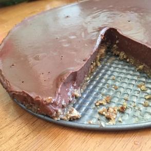 Pie, close up